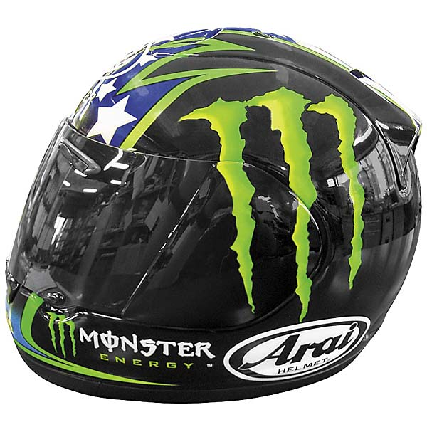 arai rx 7 corsair hopkins monster replica helmet. Black Bedroom Furniture Sets. Home Design Ideas